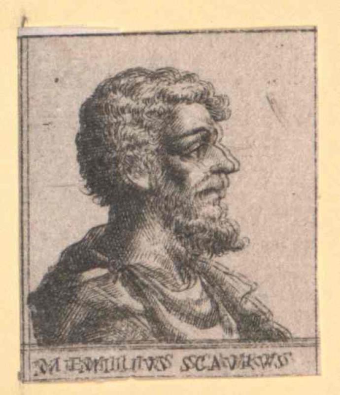 Aemilius Scaurus, Marcus