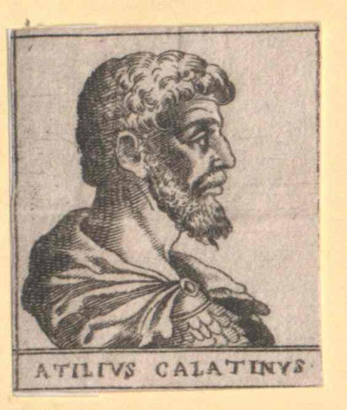 Atilius Calantinus, A.