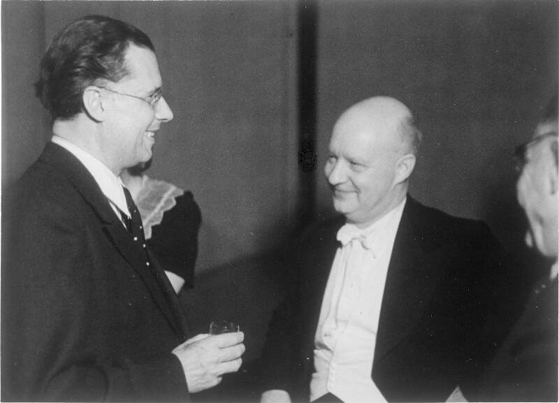 Karl Böhm und Paul Hindemith