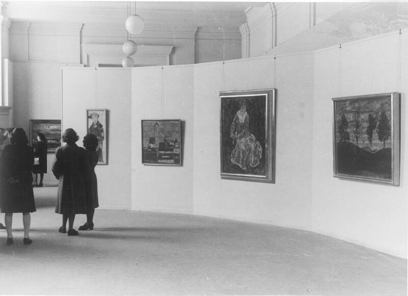 Ausstellung in der Kunstakademie