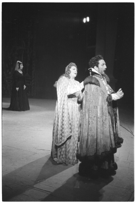 """Hilde Konetzni und Max Lorenz in """"Othello"""""""