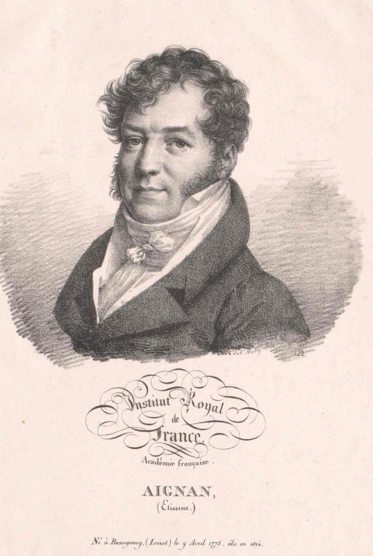 Aignan, Etienne