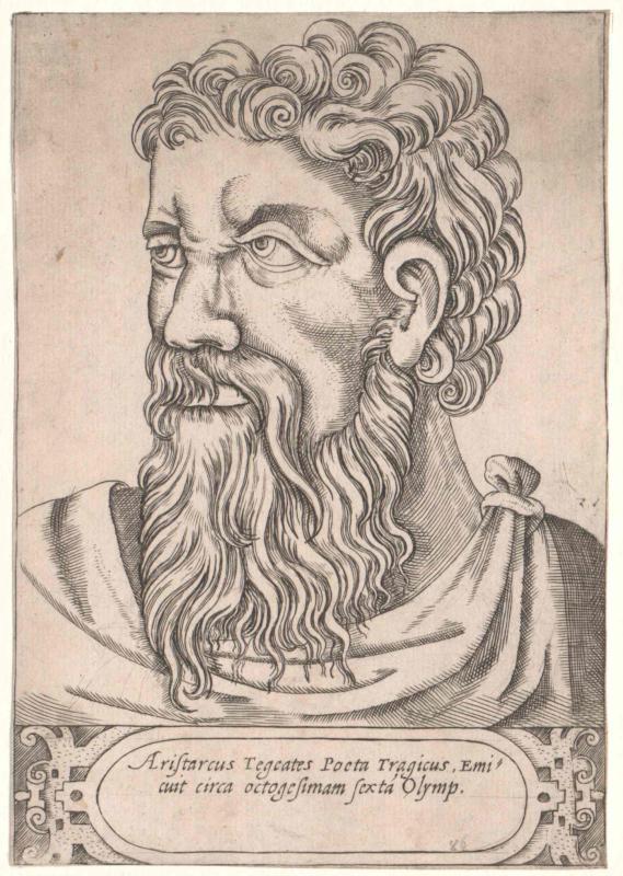 Aristarchus von Tegea  (5.Jh.v.Chr.)