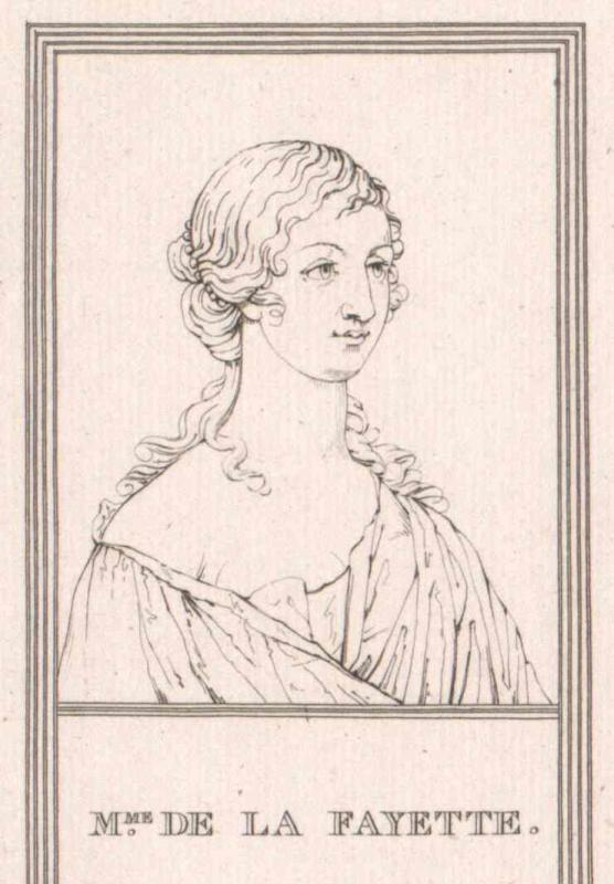 La Fayette, Marie Madeleine Comtesse de