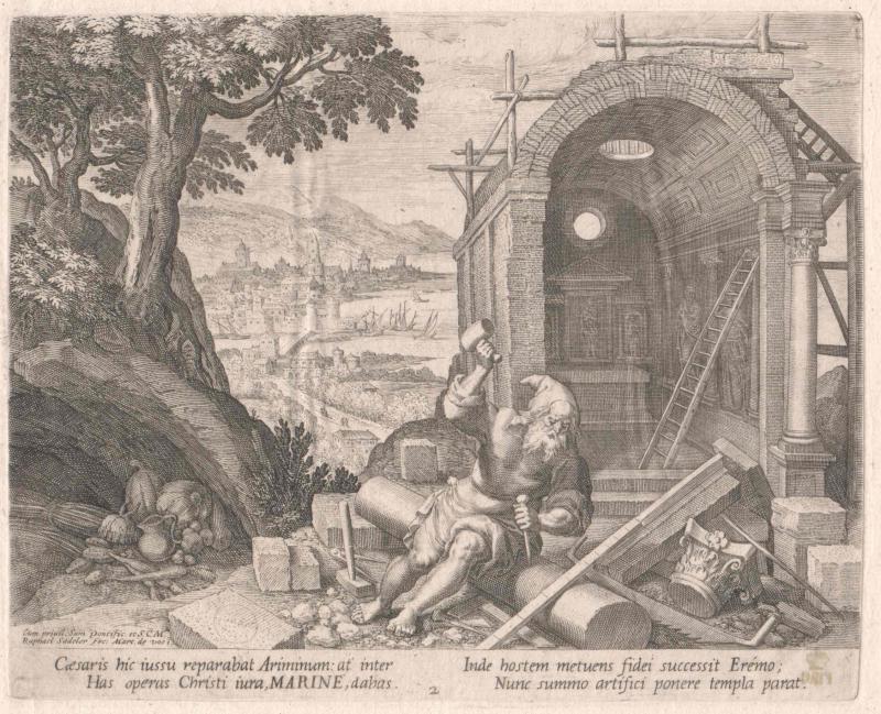 Marinus von Rimini, Heiliger