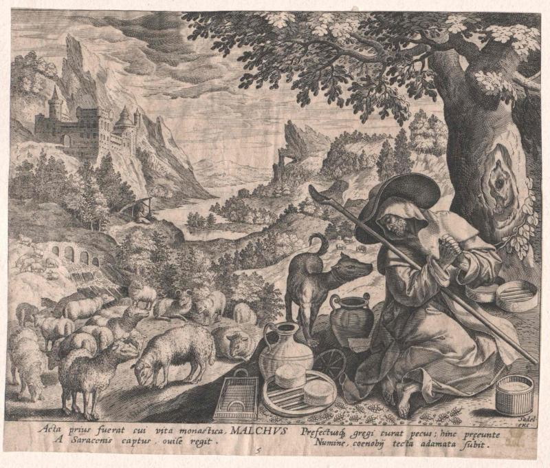 Malchus von Maronia, Heiliger