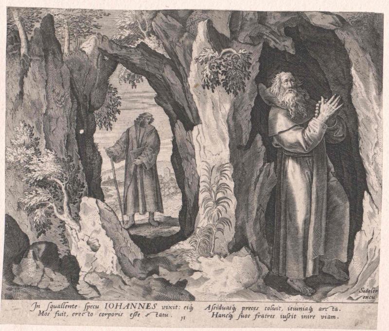 Johannes von Lykopolis, Heiliger