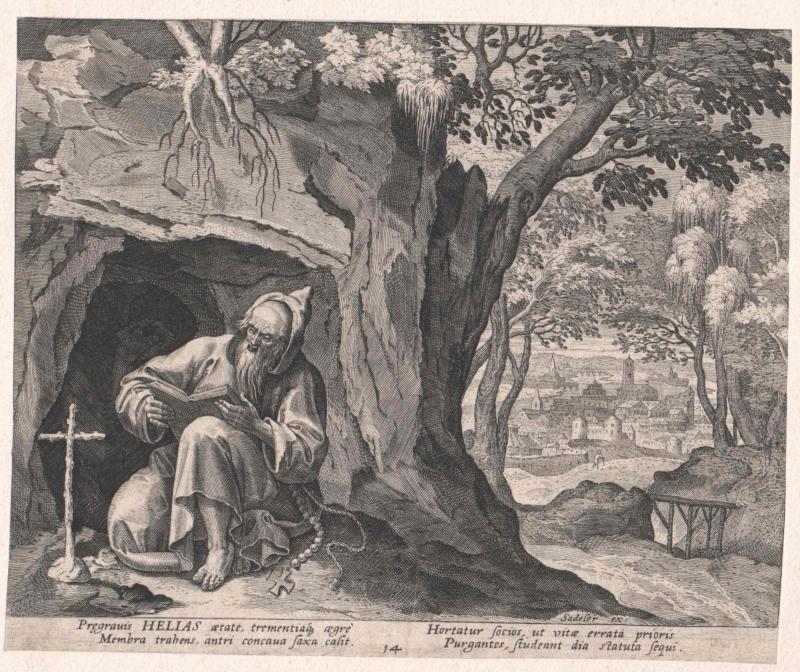 Elias von Ägypten, Heiliger