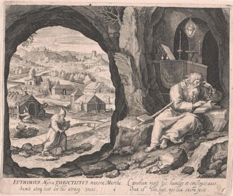 Euthymius der Große, Heiliger