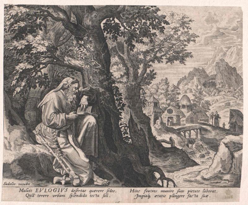 Eulogius von Ägypten, Heiliger