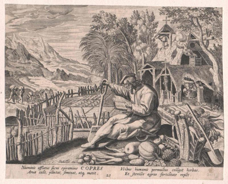 Copres von Ägypten, Heiliger