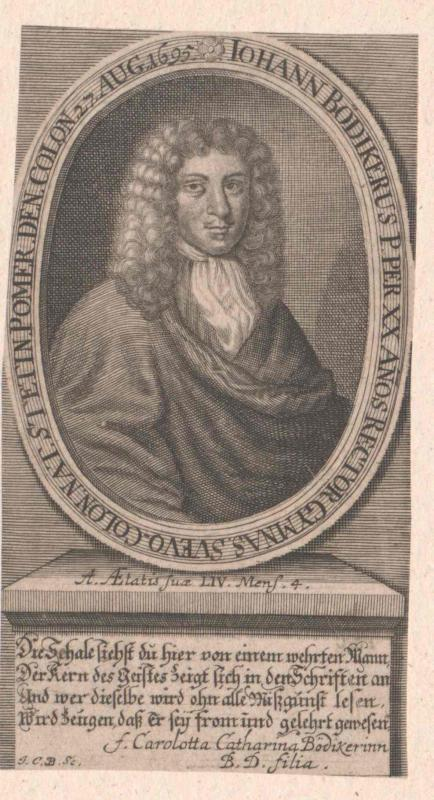 Bödiker, Johann