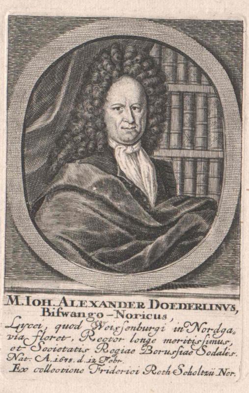 Döderlin, Johann Alexander