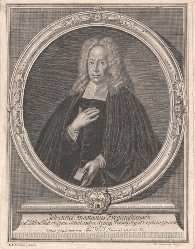 Freylinghausen, Johann Anastasius