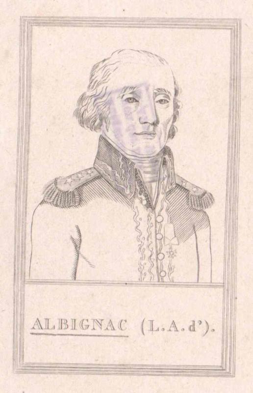 Albignac, Louis Alexandre baron d'