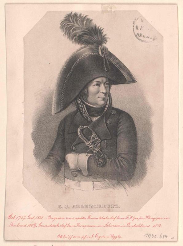 Adlercreutz, Carl Johan Graf