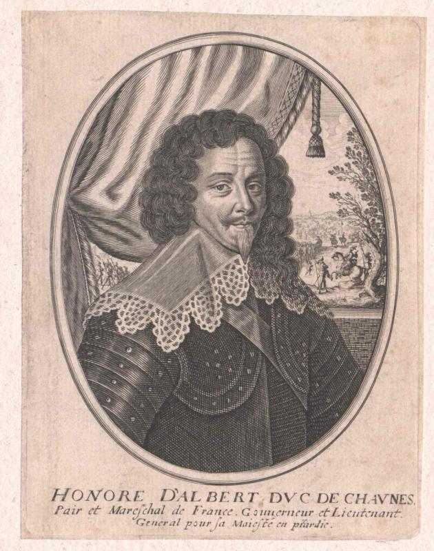 Albert de Cadenet, Duc de Chaulnes, Honoré d'