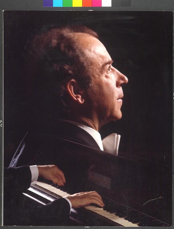 Paul Badura-Skoda, um 1980©Bildarchiv Austria, ÖNB