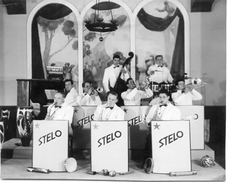 """Jazz-Orchester """"Stelo"""", Moya 1955"""