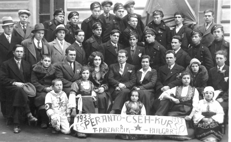 Esperanto-Kurs, Pazargik 1933