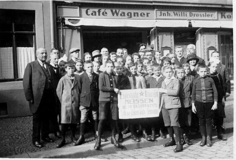 Sächsische Esperanto-Woche, Meissen 1925