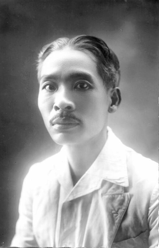 Dinh Tu Lam, um 1935