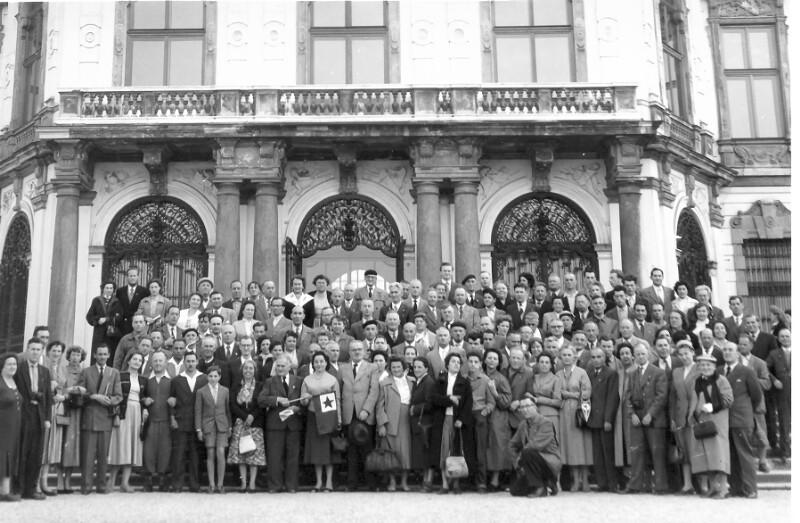 Eisenbahner-Esperanto-Ferienwoche, Wien 1956
