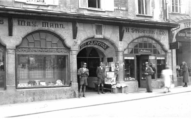 Salzburg, Alter Markt 1 um 1930
