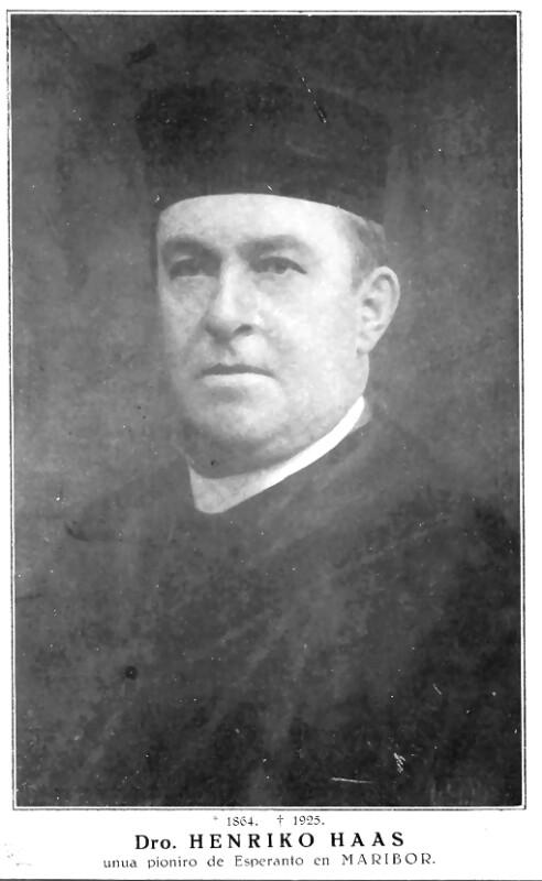 Heinrich Karl Haas, um 1900