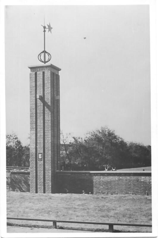 Esperanto-Denkmal Den Burg, 1935