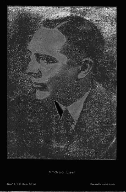 Andreo Cseh, um 1930