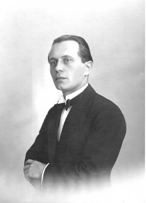 Franz Vasta, um 1925
