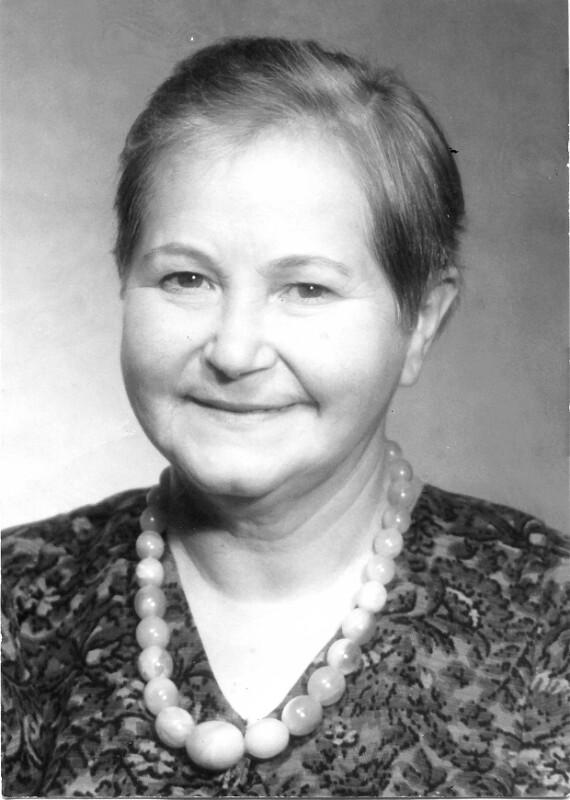 Helve Kiltschevskaja, um 1960