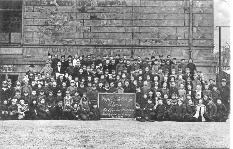 Esperanto-Schule, Plauen im Vogtland 1922