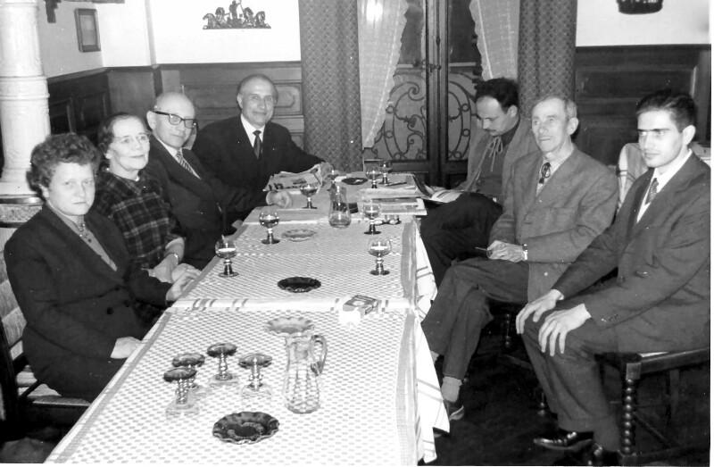 Esperantisten-Treffen in Perpignan 1961