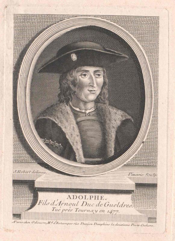 Adolf von Egmond, Herzog von Geldern