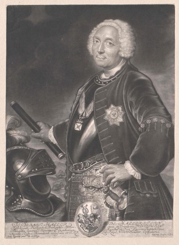 Haller von Hallerstein, Johann Sebastian