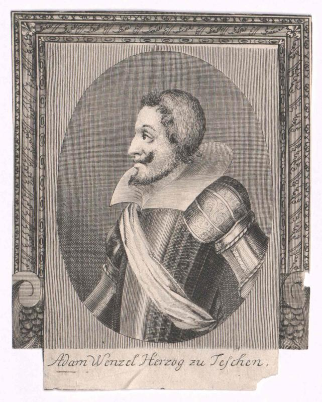 Adam Wenzel, Herzog von Schlesien-Teschen