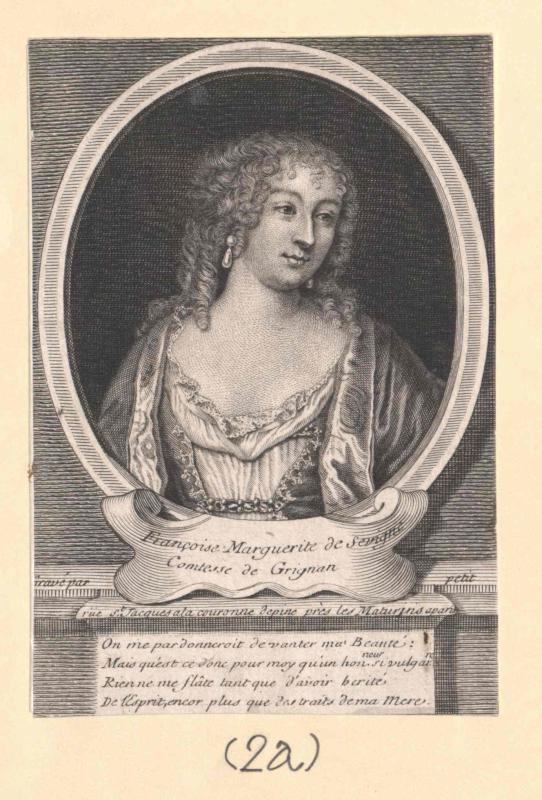 Sévigné, Francoise Marguerite Marquise de