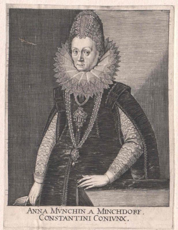 Münch von Münchdorf, Anna