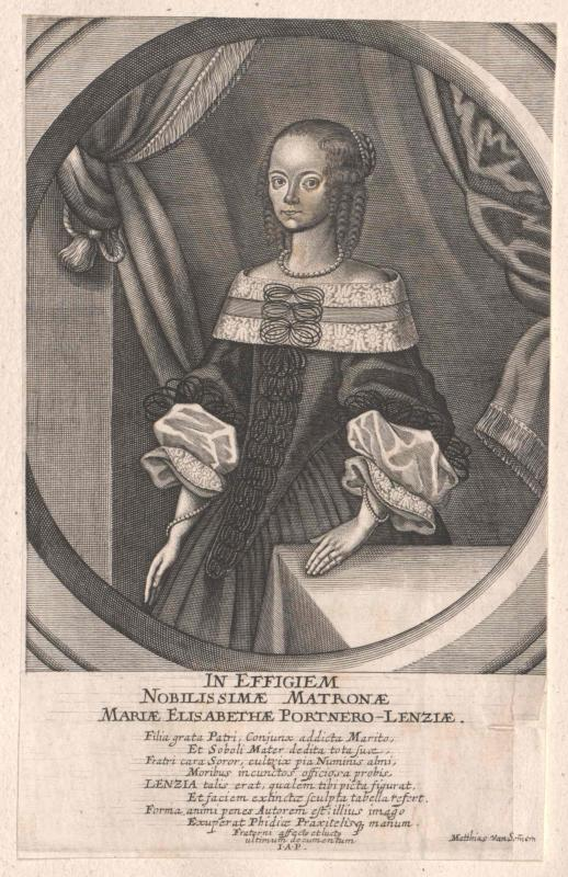 Portner-Lenz, Maria Elisabetha