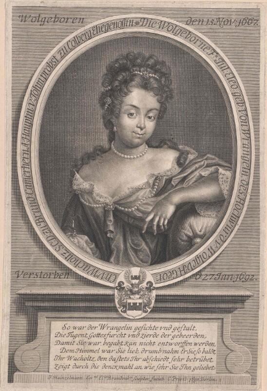 Wrangeln, Julie Eleonora von