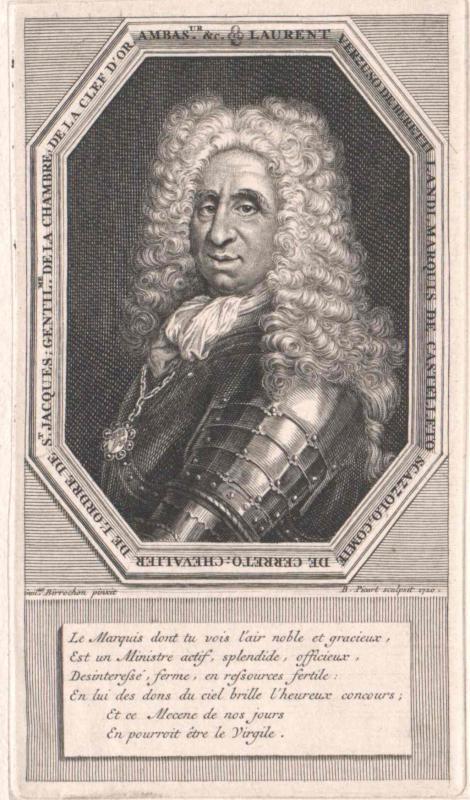 Beretti Landi, Markgraf von Castelletto, Graf von Cereto, Lorenzo Verzuso