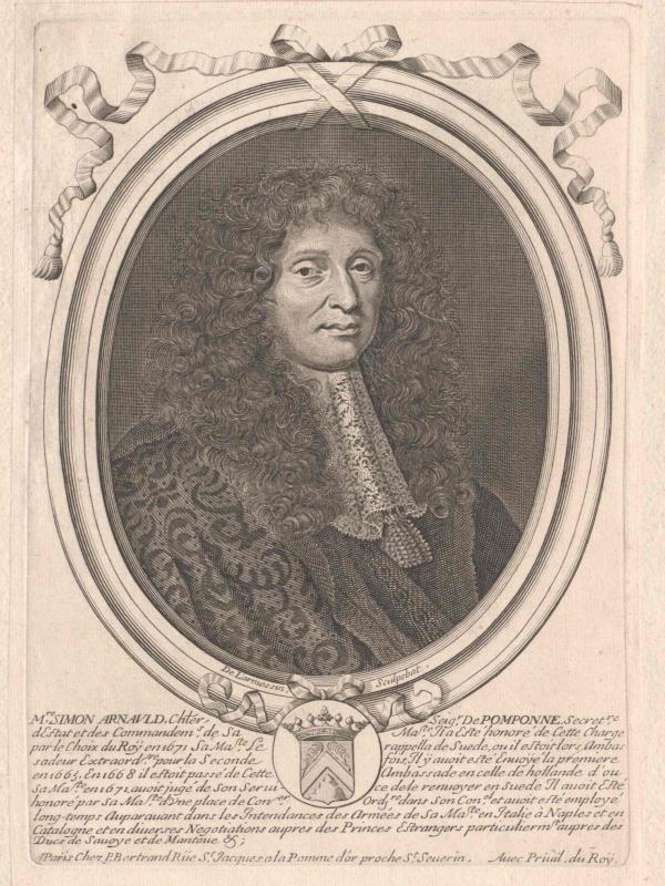Arnauld, Marquis de Pomponne, Simon