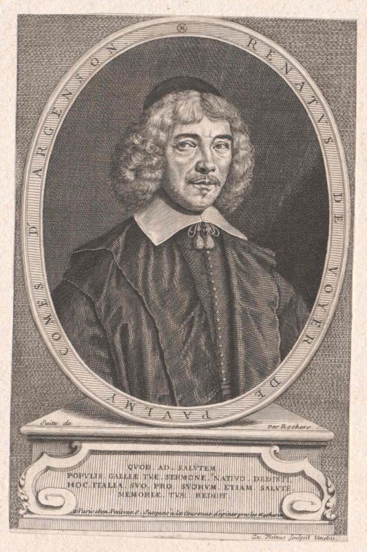 Argenson, René de Voyer de Paulmy Conte d'