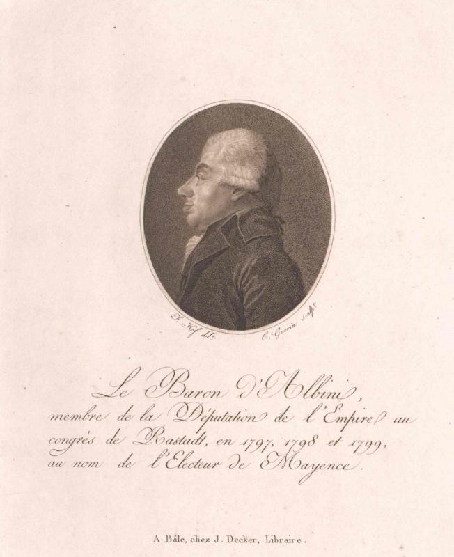 Albini, Franz Josef Freiherr