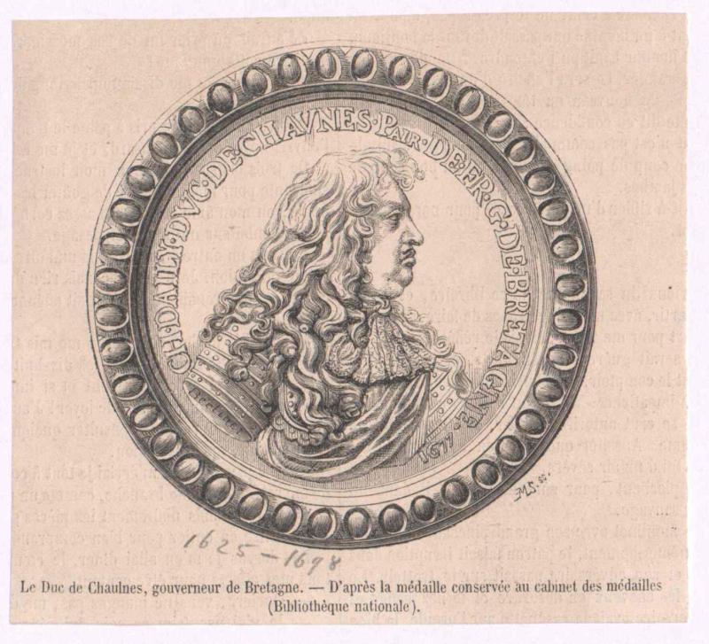 Albert d'Ailly, Duc de Chaulnes, Charles d'