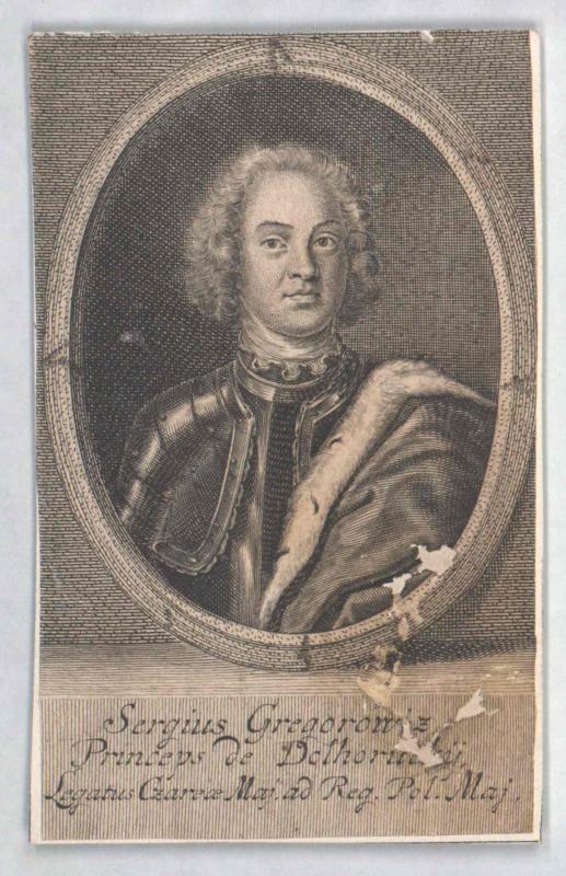 Dolgorukij, Sergej Grigorowitsch Fürst