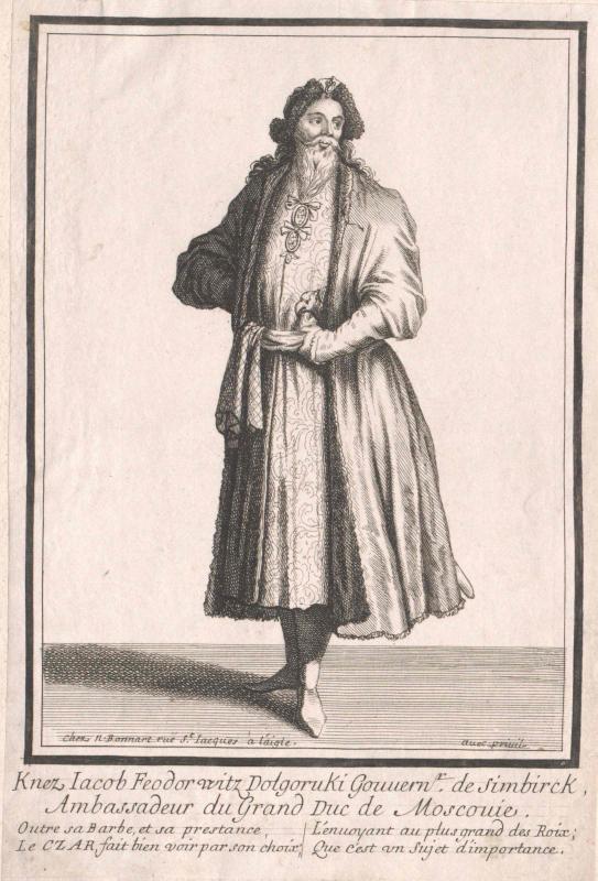 Dolgorukij, Jakov Feodorovic Fürst