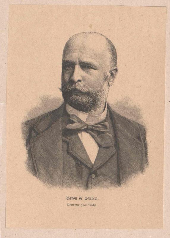 Courcel, Alphonse Chodron baron de